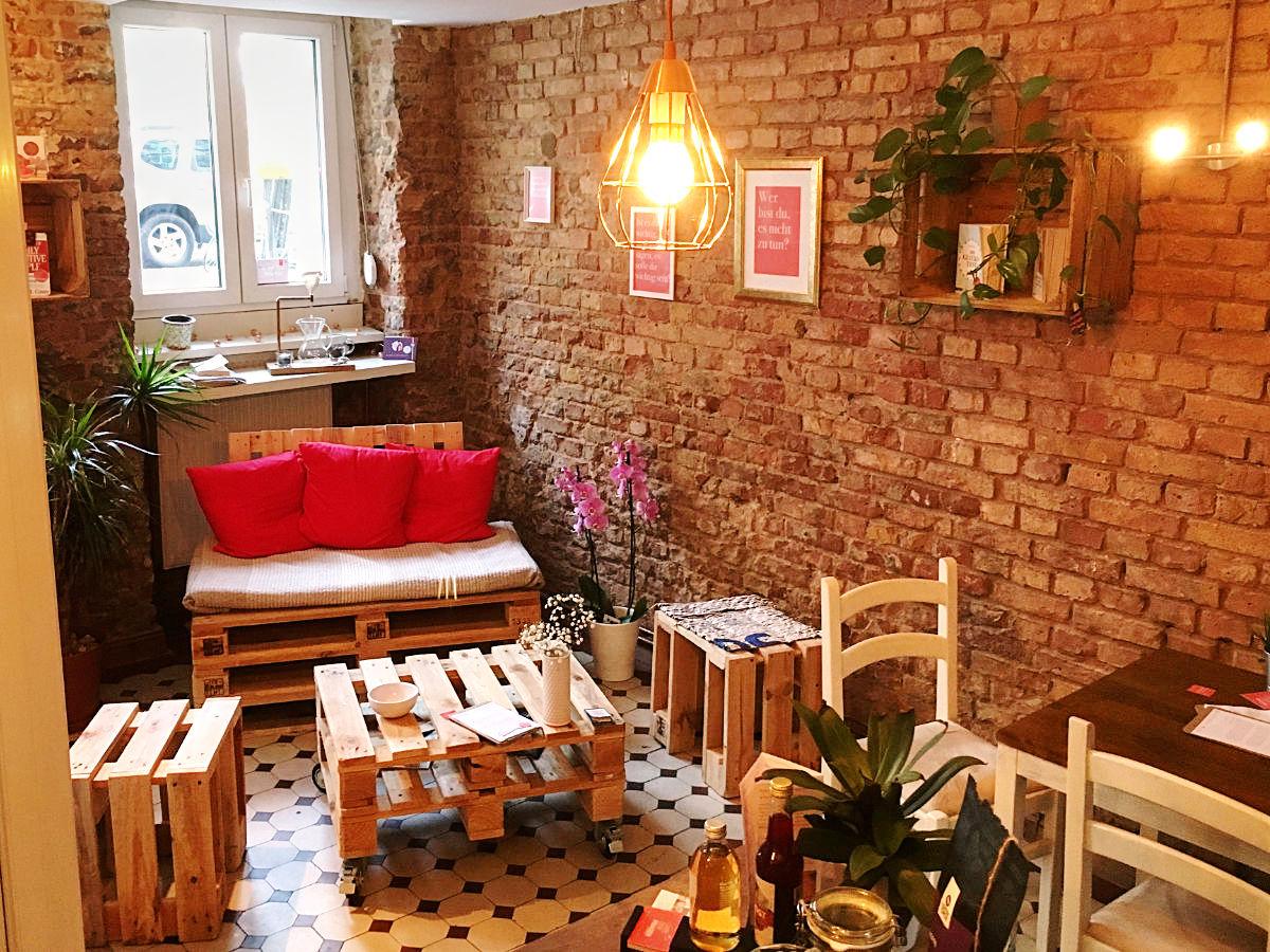 Café der Fragen - Theke